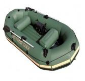 قایق سه نفره با روکش برزنت