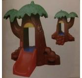 کلبه درختی با سرسره