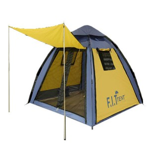 چادر مسافرتی اتوماتیک دو پوش سایبان دار
